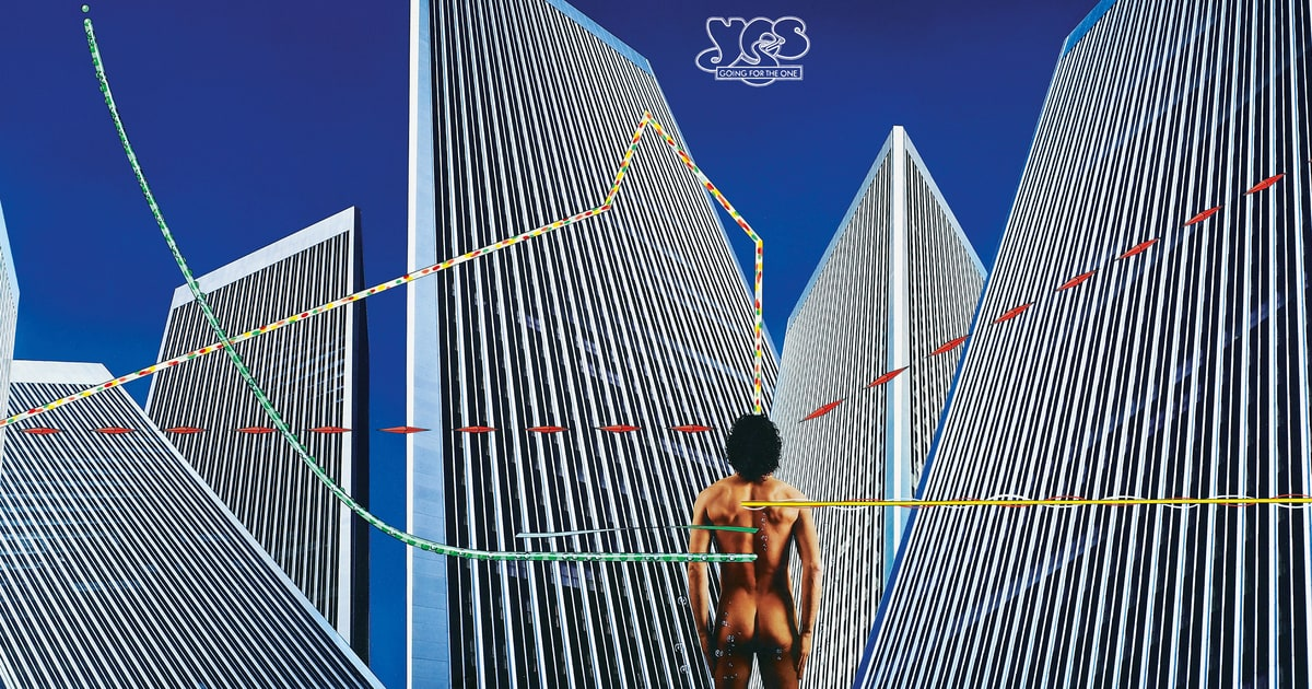 Yes Going For The One 1977 Hipgnosis Life In 15