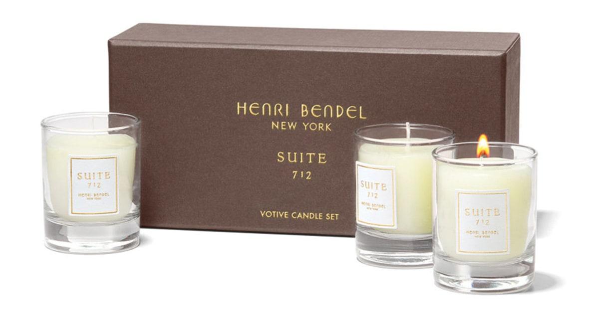 Henri Bendel Suite 712 Votive Candle Set | Henri Bendel ...