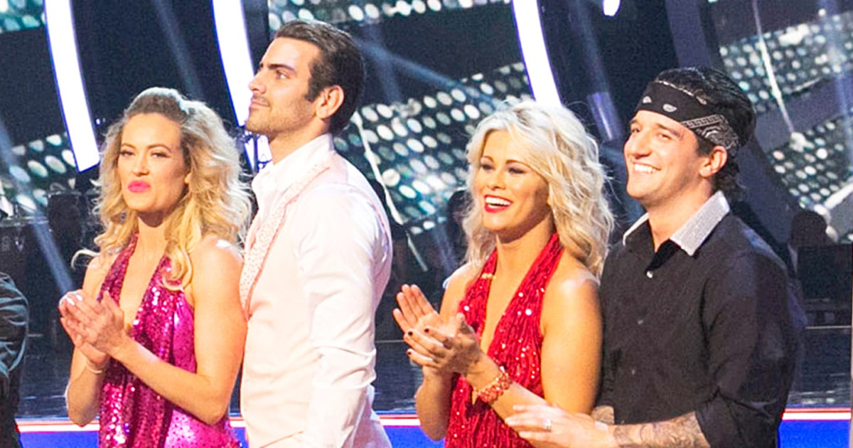 Who is peta hookup on dancing with the stars