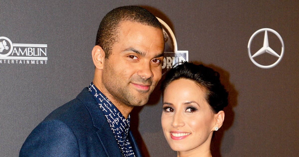 Tony Parker Axelle Francine Welcome Second Child Us Weekly