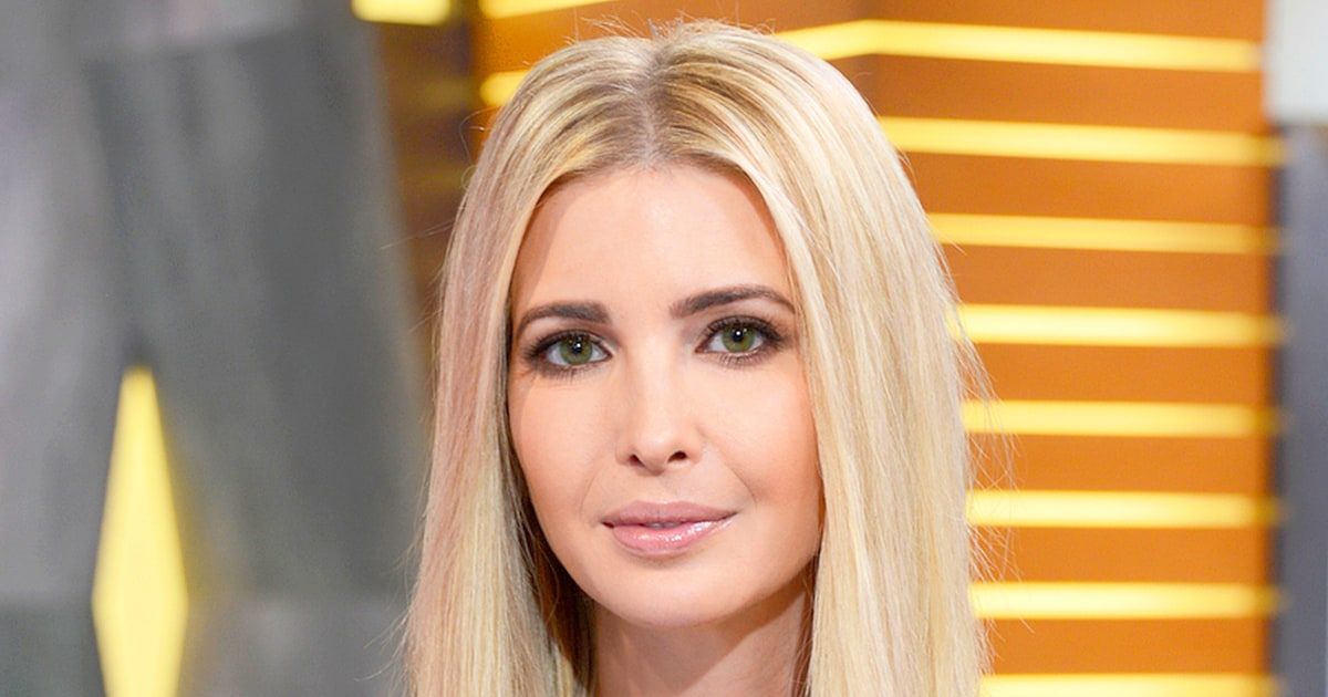 Ivanka Trump Abruptly Ends Interview Over Child-Care ...