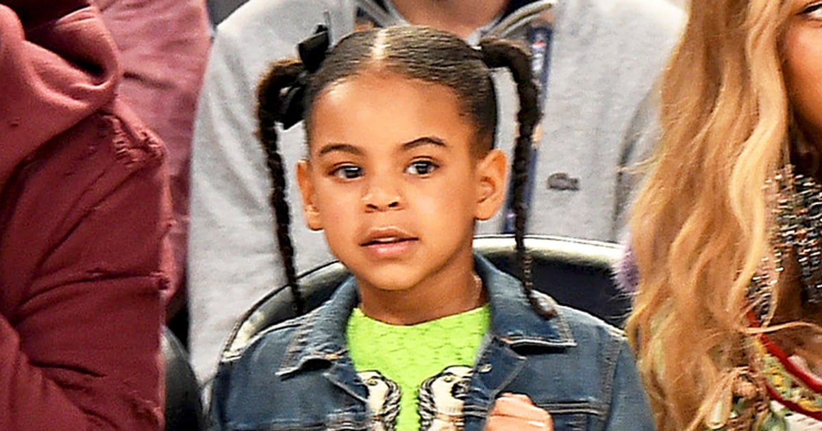 Blue Ivy Wears $1,800 Gucci Dress Because She's the ...