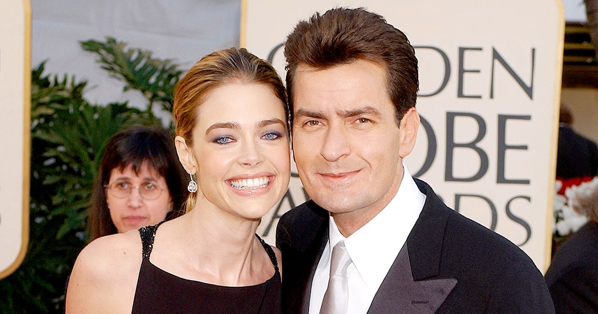 "Denise Richards: Charlie Sheen Was ""Very Different"" When ..."