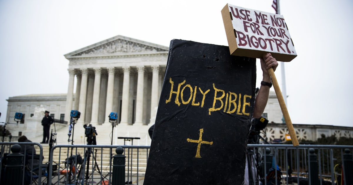 Supreme Court Decisions On Gay Wedding Cake Abortion