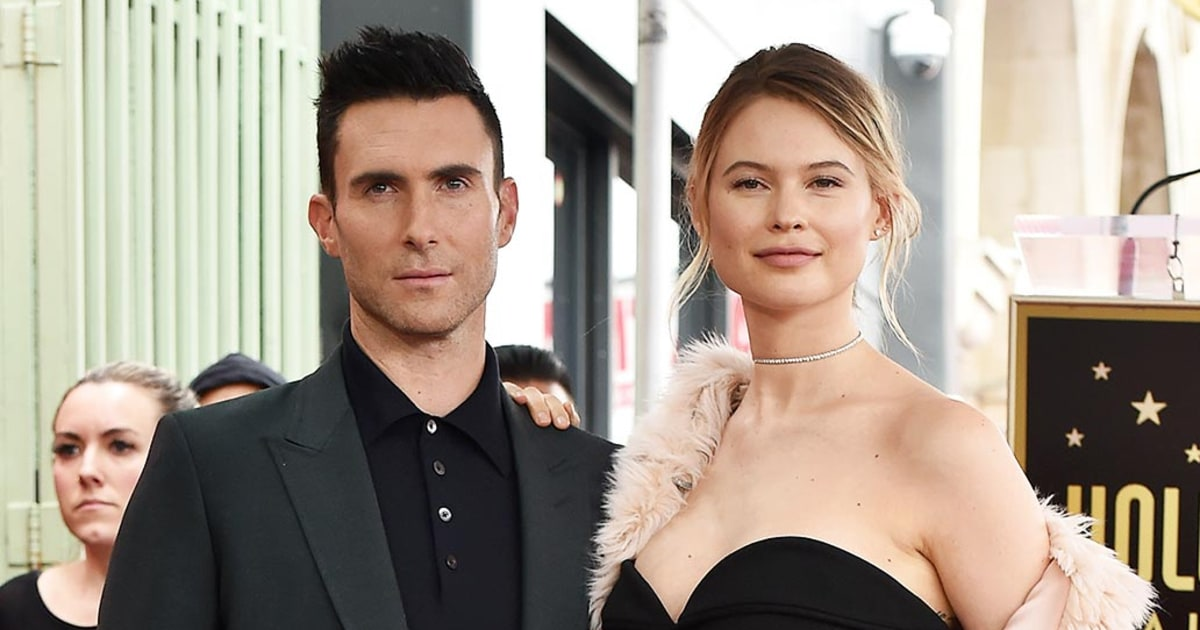 Behati Prinsloo Wishes Adam Levine A Happy Birthday Love Of My