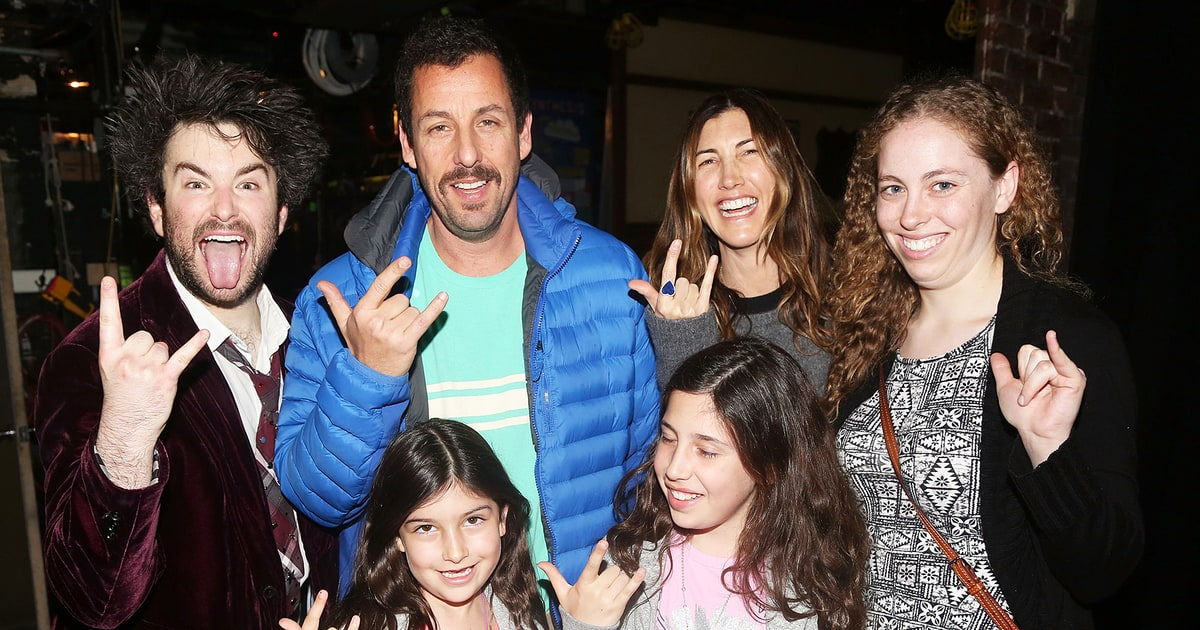 Adam Sandler: The Sandlers Go to School! | Hot Pics | Us ...