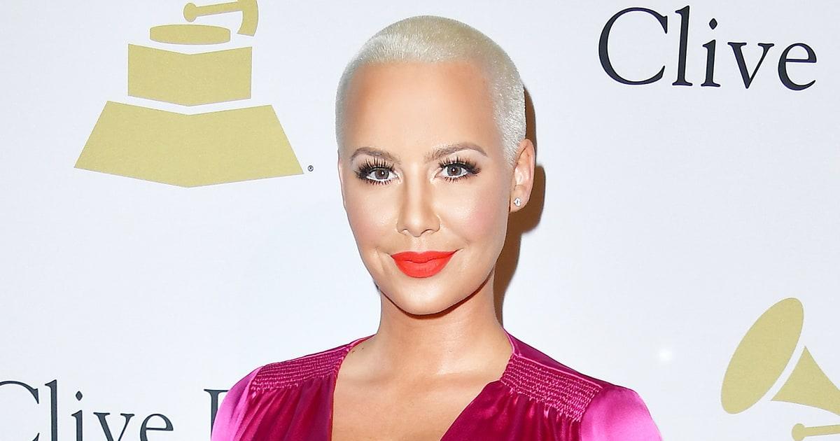 Amber Rose Clarifies Her Relationship With Ex Wiz Khalifa
