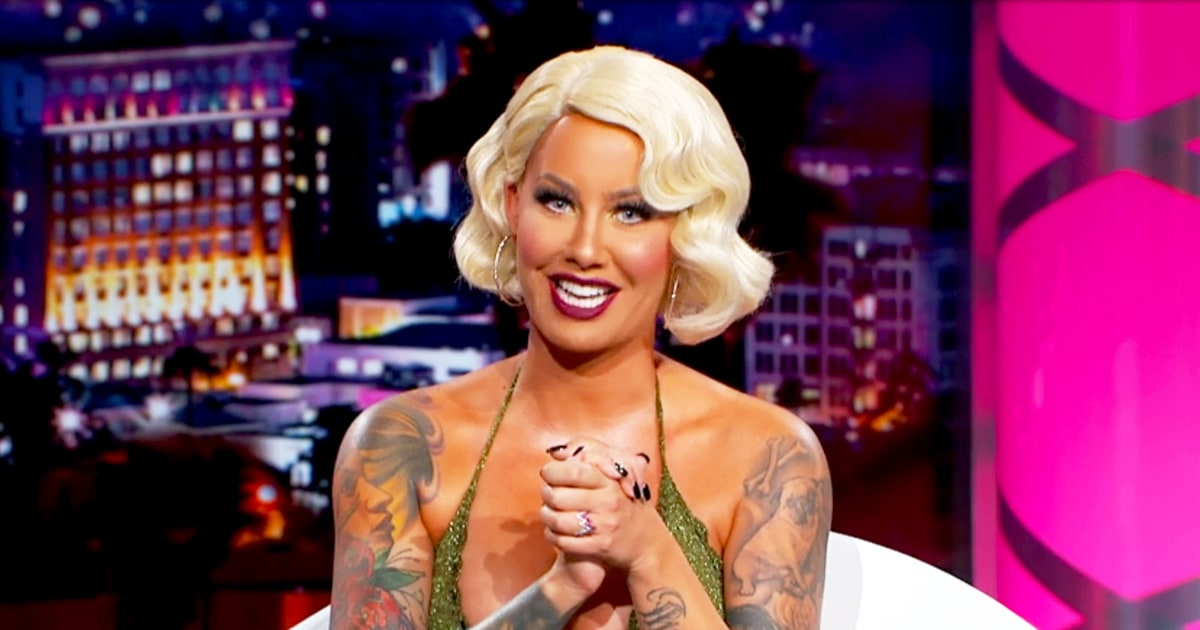 Amber Rose Defends Kanye West Against Taylor Swift — Then Tells Him to 'Stay the F--k Out of the News'