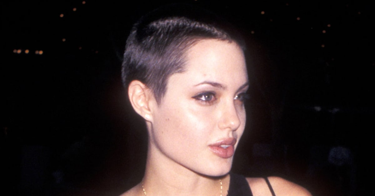 Images Of Angelina Jolie With Shaved Head Black Models