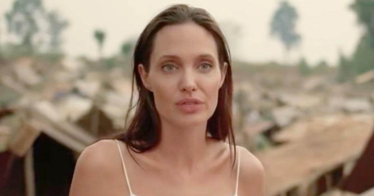 Angelina Jolie Shares ... Angelina Jolie
