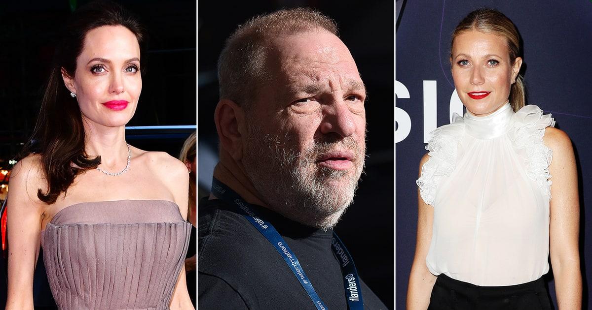 Gwyneth Paltrow Angelina Jolie Accuse Harvey Weinstein Of Harassment