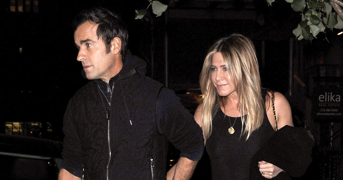 Jennifer Aniston Gets a Massage and Holds Hands With Husband