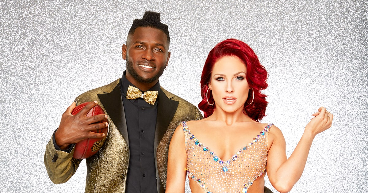 Antonio Brown And Sharna Burgess Dancing With The Stars