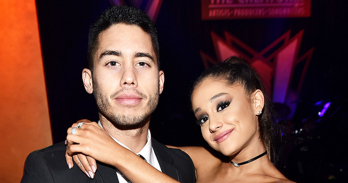 Who is ariana grande dating at the moment