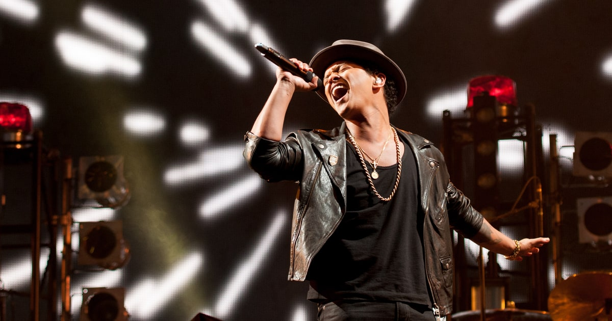 Top 10 Songs You Didn't Know Were Written by Bruno Mars ...