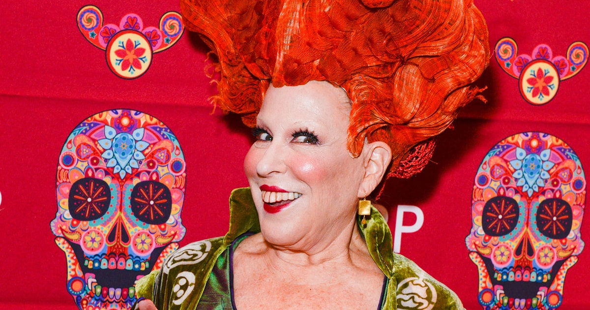 Bette Midler Revives Her Hocus Pocus Character For