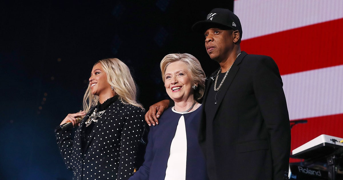 Beyonce and Jay Z Perform for Hillary Clinton in Ohio: 'This Is History'