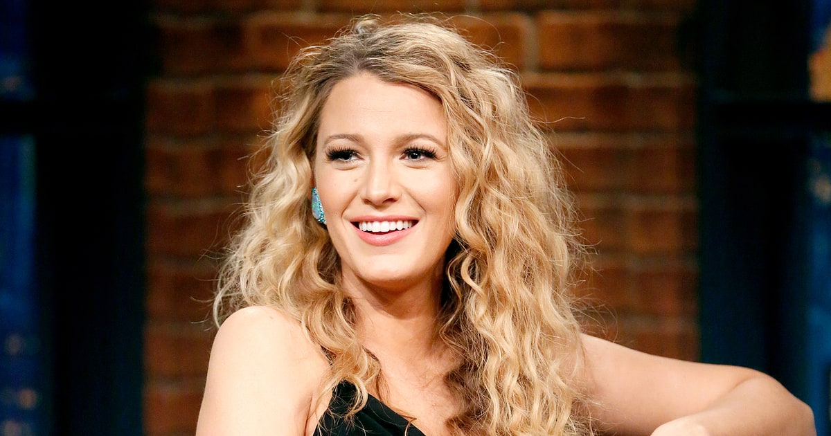 blake lively wavy hair - photo #30