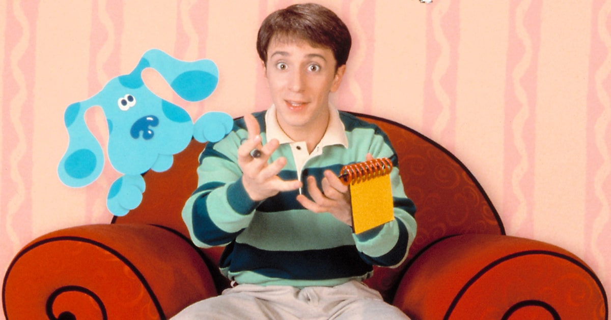 Blue S Clues Turns 20 Host Steve Admits He Hated The
