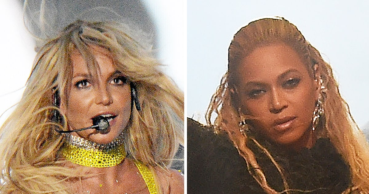 fans felt bad britney spears had to follow beyonce�s vmas