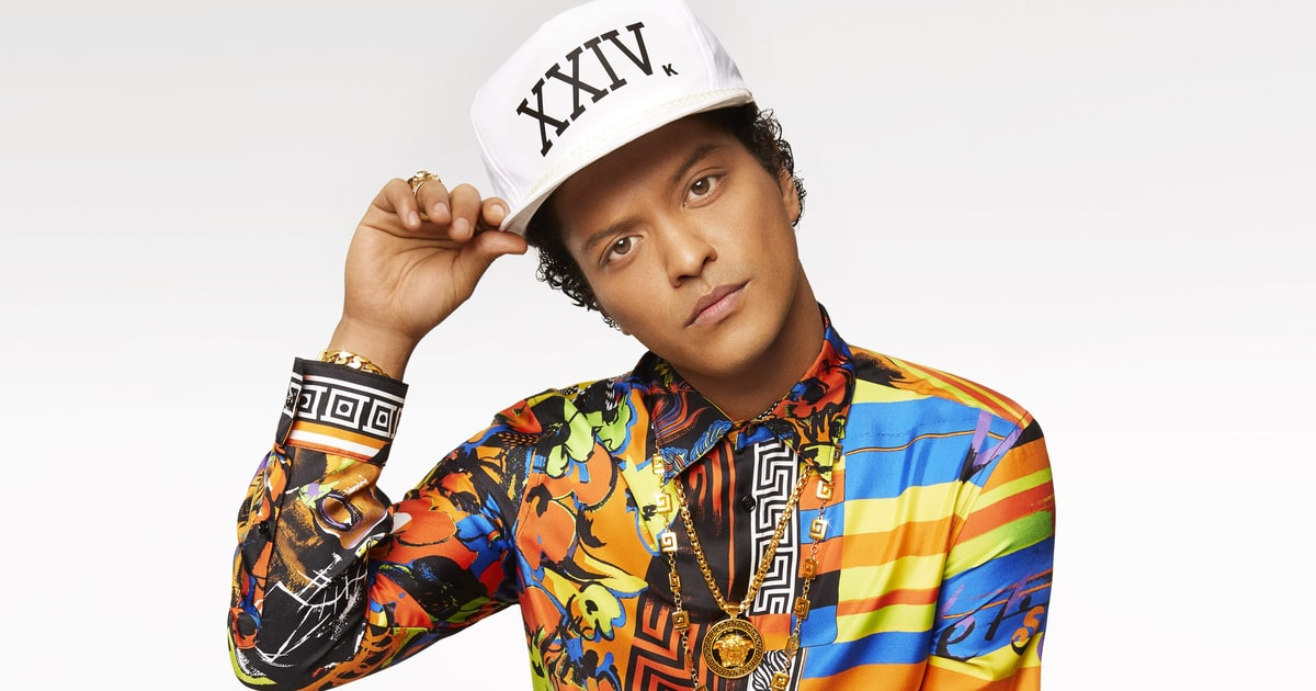 Bruno Mars Announces 2017 '24K Magic' World Tour