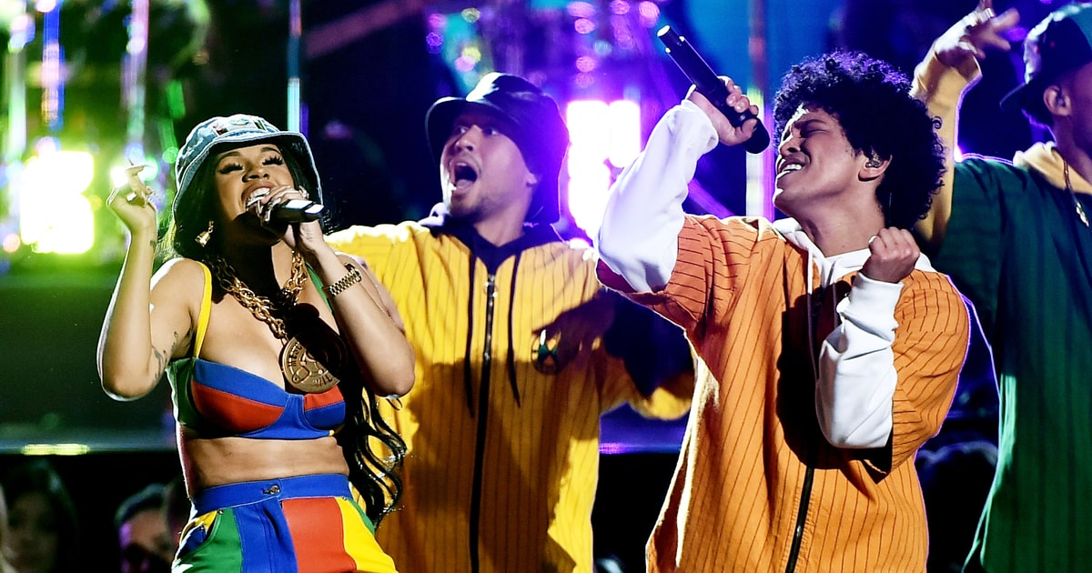 Bruno Mars Cardi B S Colorful Finesse Grammys