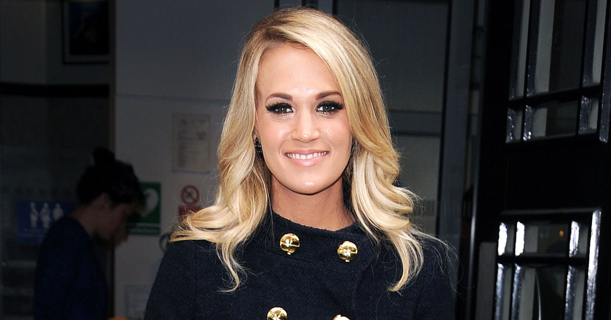 Carrie Underwood Has a Brand-New Haircut: See Her Lob Style - Us ... Beauty And The Beast Belle Pink Dress