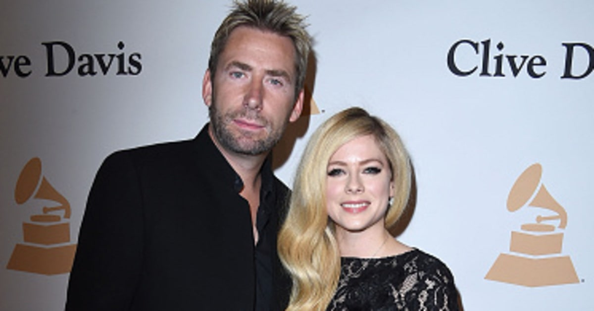 avril and chad howd they meet