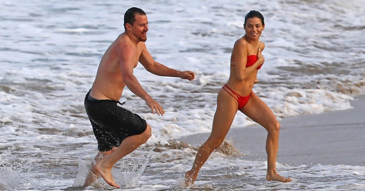 Channing Tatum and Jenna Dewan Hit the Beach in Hawaii ...