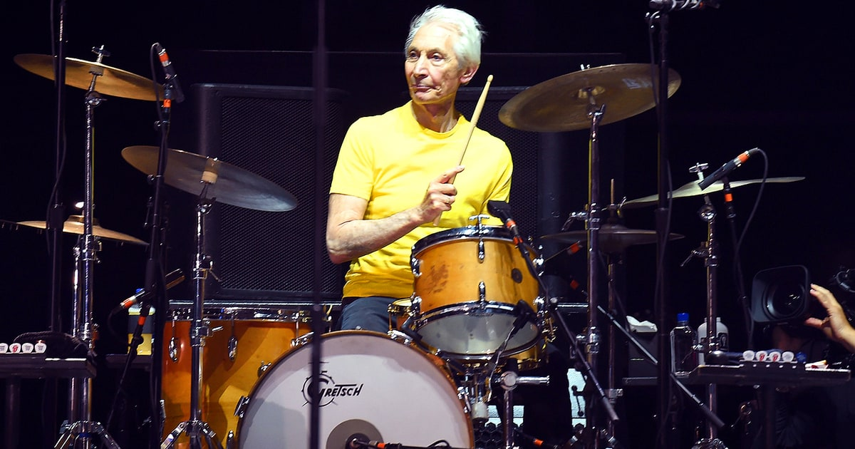 Rolling Stones Drummer Charlie Watts Plots New Big Band