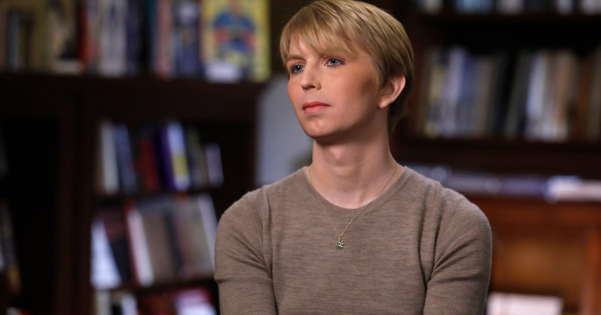 chelsea manning speaks out first time since prison release