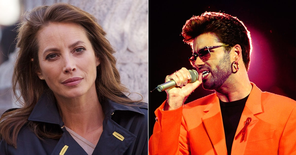 Christy Turlington Burns Remembers Shy George Michael