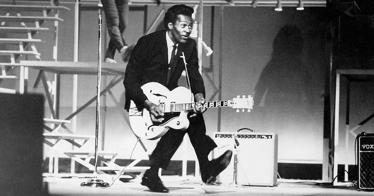 Image result for chuck berry 2017
