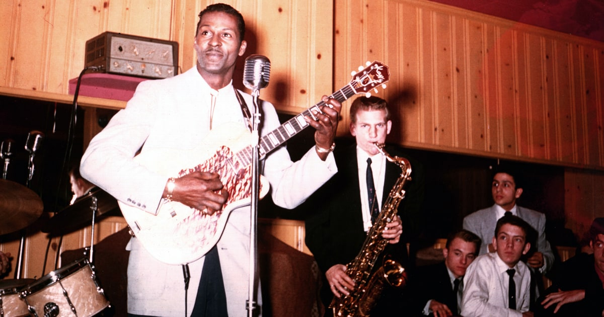 rollingstone.com - Flashback: Chuck Berry Performs at 1958 Newport Jazz Festival