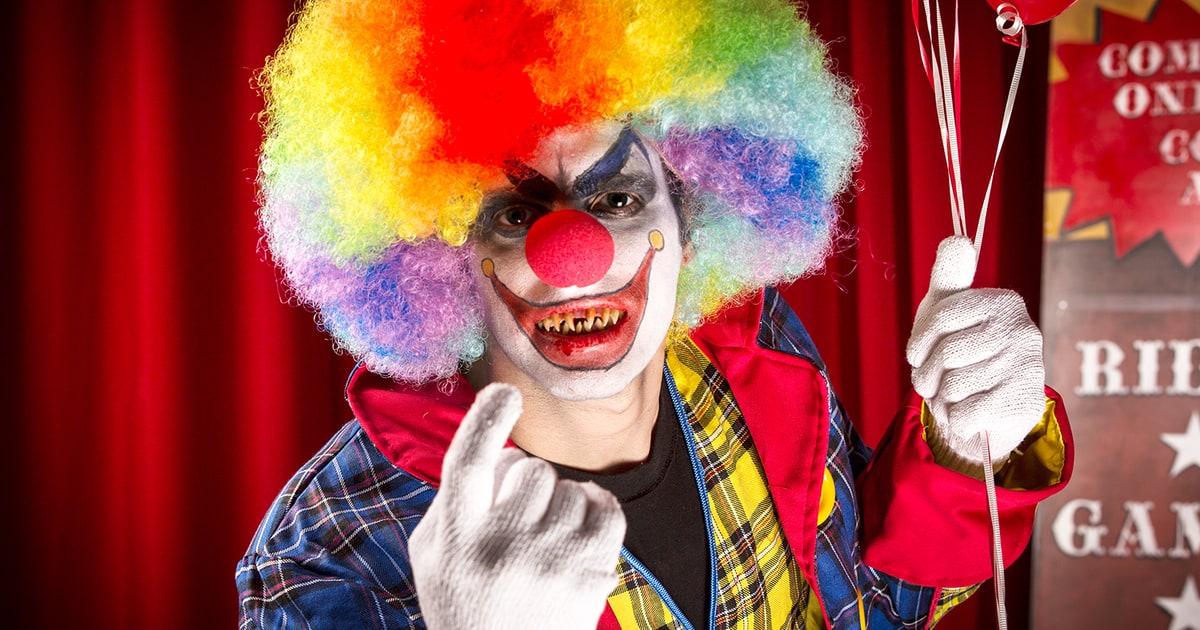 how to call a killer clown