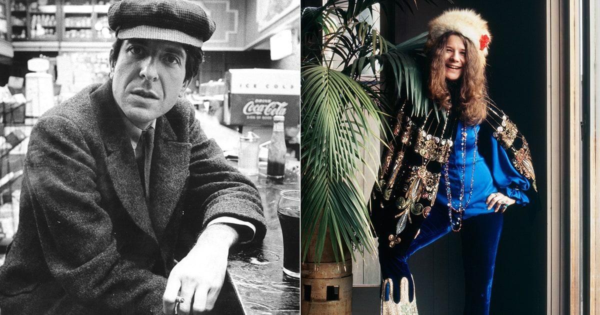 How Leonard Cohen Met Janis Joplin At The Chelsea Hotel