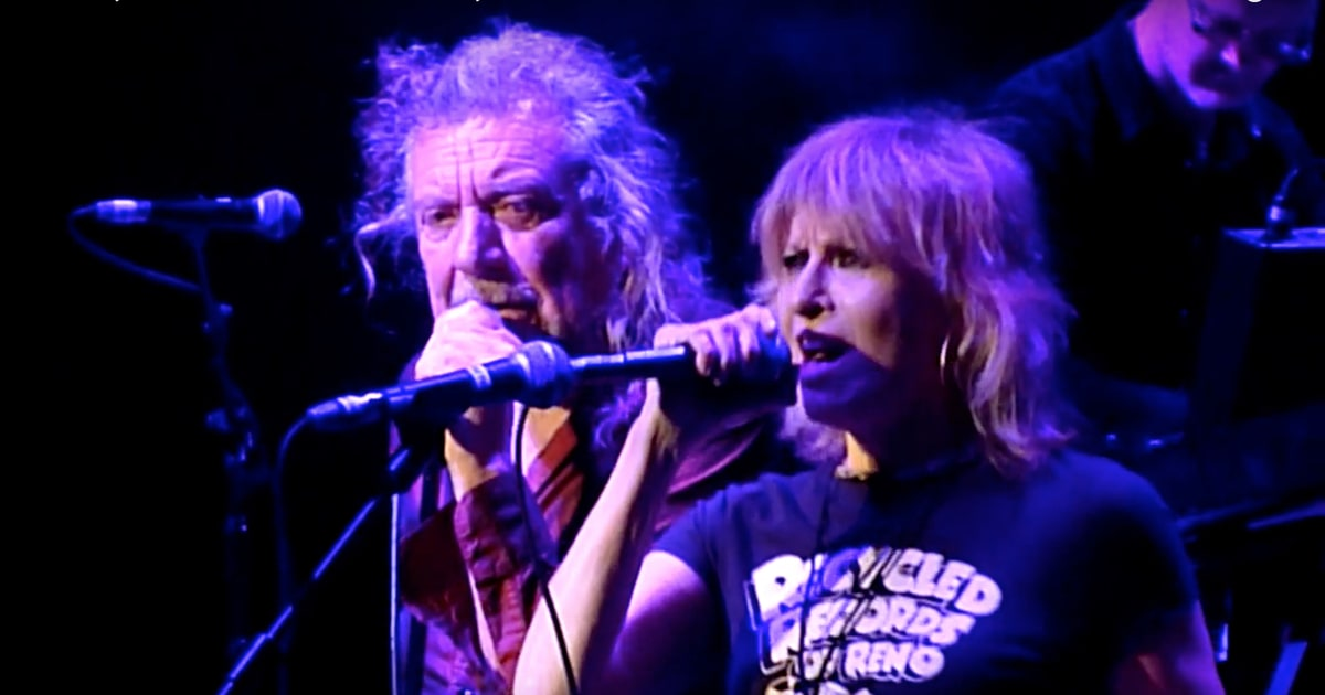 See Robert Plant Chrissie Hynde Perform Together In