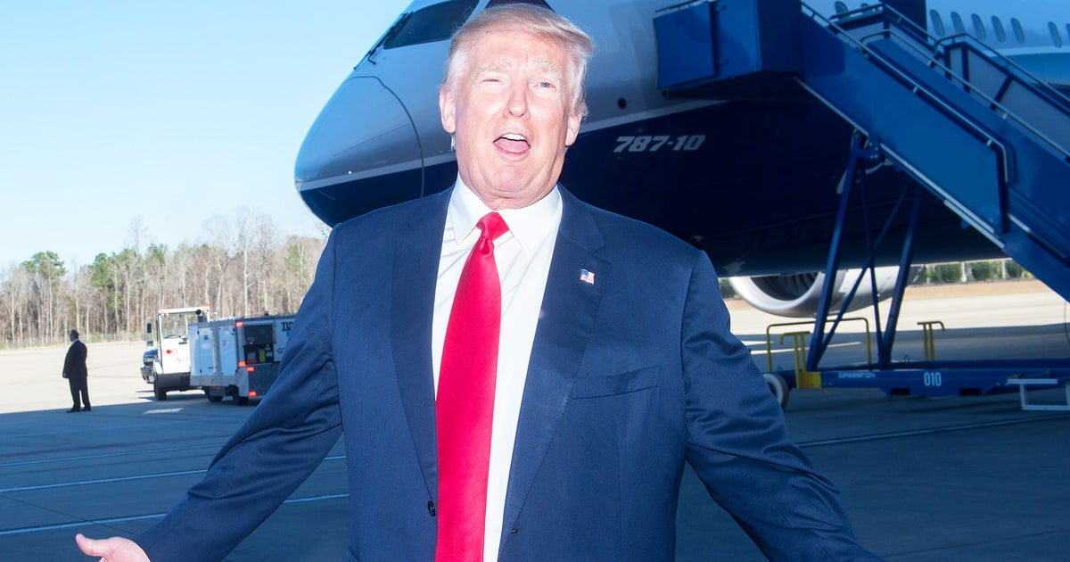 97a06fac76b Donald Trump Makes Terrible Joke About Boeing Plane (1.03 5)