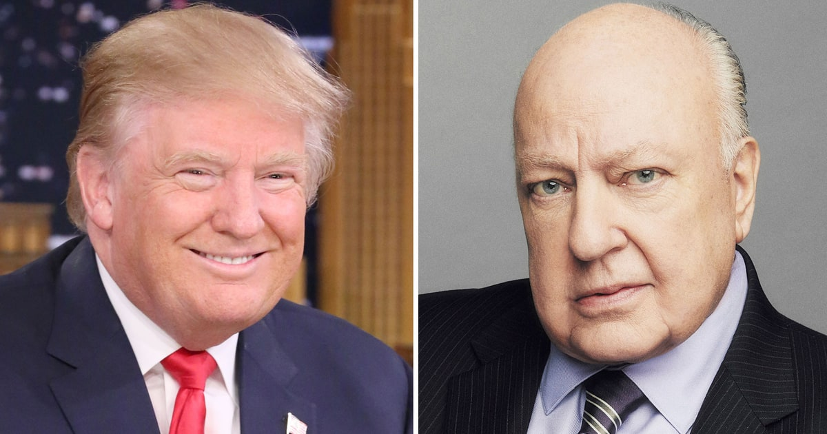 media news donald trump roger ailes allegations