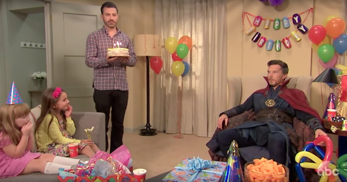 See Dr Strange Struggle As Kids Party Magician On