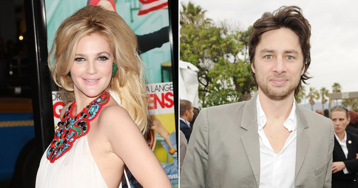 Zach Braff Amp Drew Barrymore Can You Believe They Dated