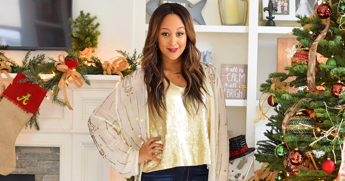 A Helping Hand Inside Tamera Mowry S Festive And