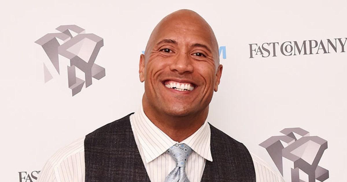 Dwayne The Rock Johnson Visits Kids Hospital After Filming