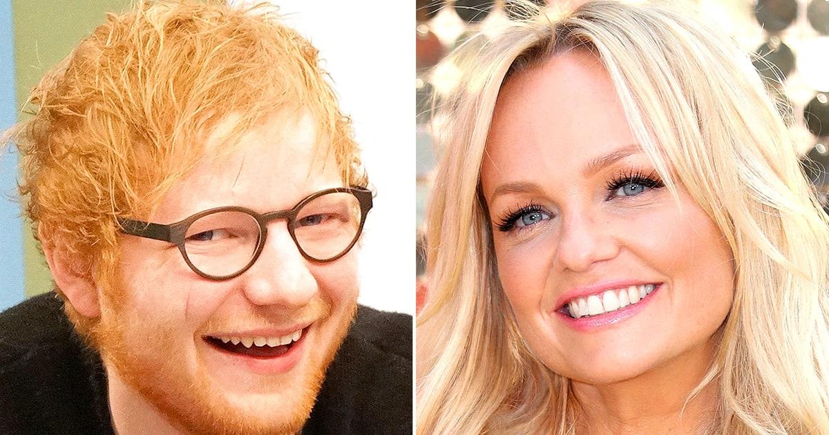 Watch Ed Sheeran Emma Baby Spice Bunton Sing A Spice