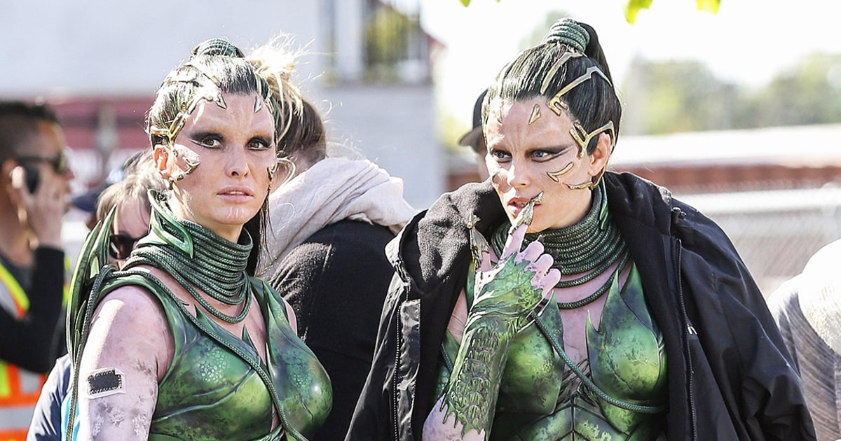 Elizabeth Banks in Power Rangers | Celebrities And Their Stunt Doubles ...