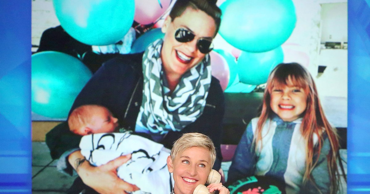 Pink Gushes Over Newborn Son Jameson: 'He's Delicious'