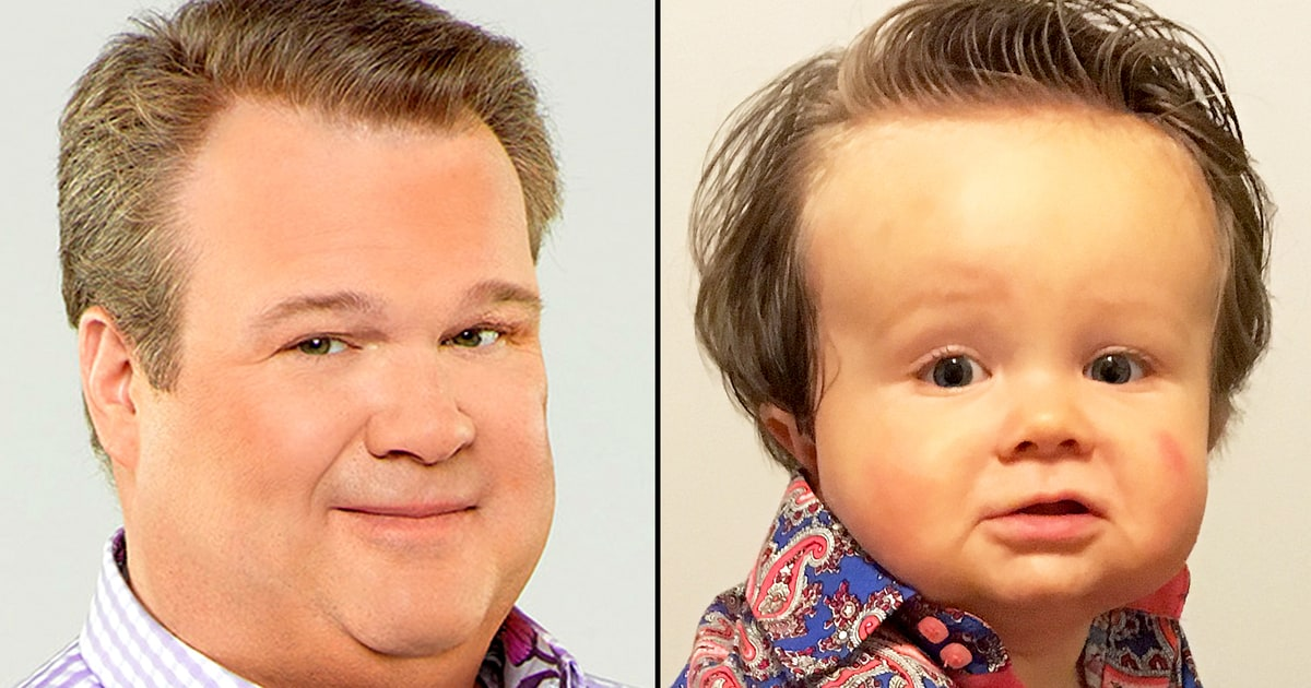 Eric stonestreet s baby look alike dressed up as modern for Eric stonestreet house