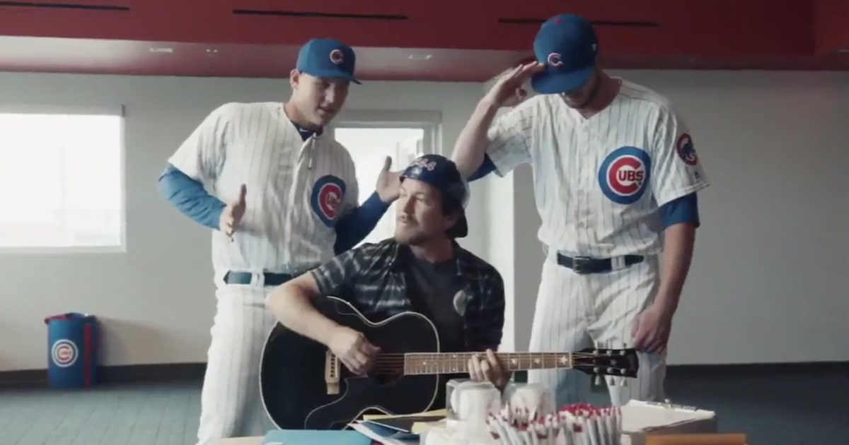 See Eddie Vedder Sing For Chicago Cubs In New Baseball Ad