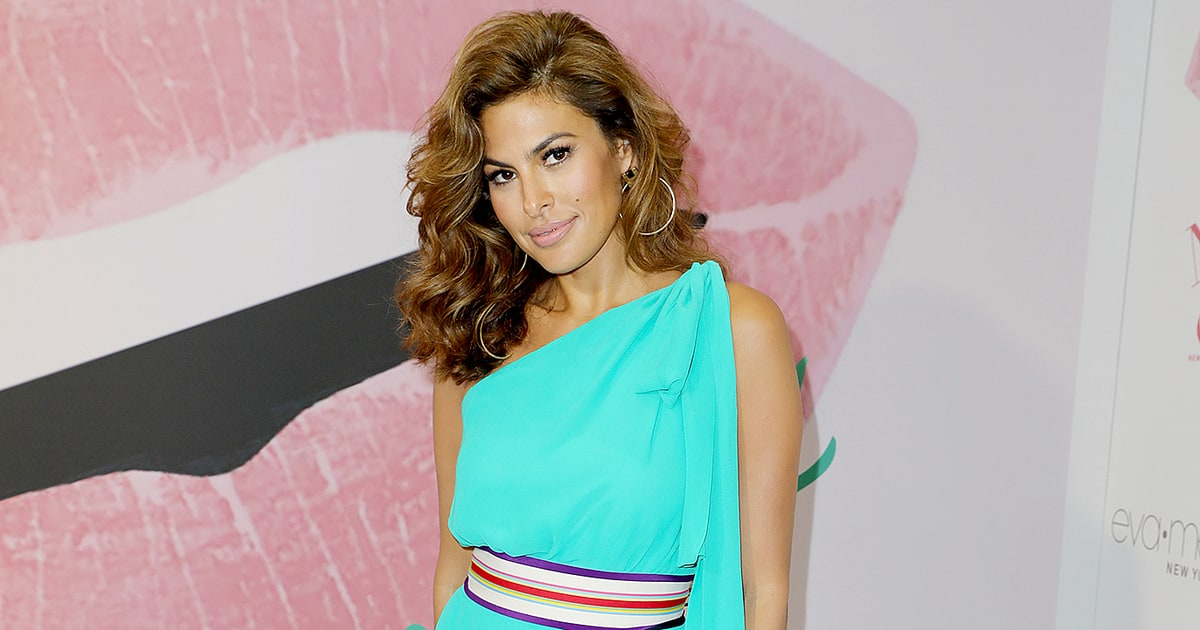 Eva Mendes Stuns at First Appearance in Six Months