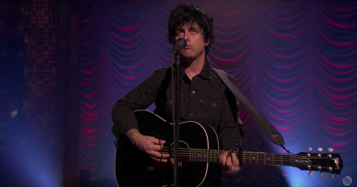 See Billie Joe Armstrong's Intimate 'Ordinary World' on 'Fallon'
